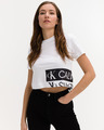 Calvin Klein Mirrored Logo Crop top