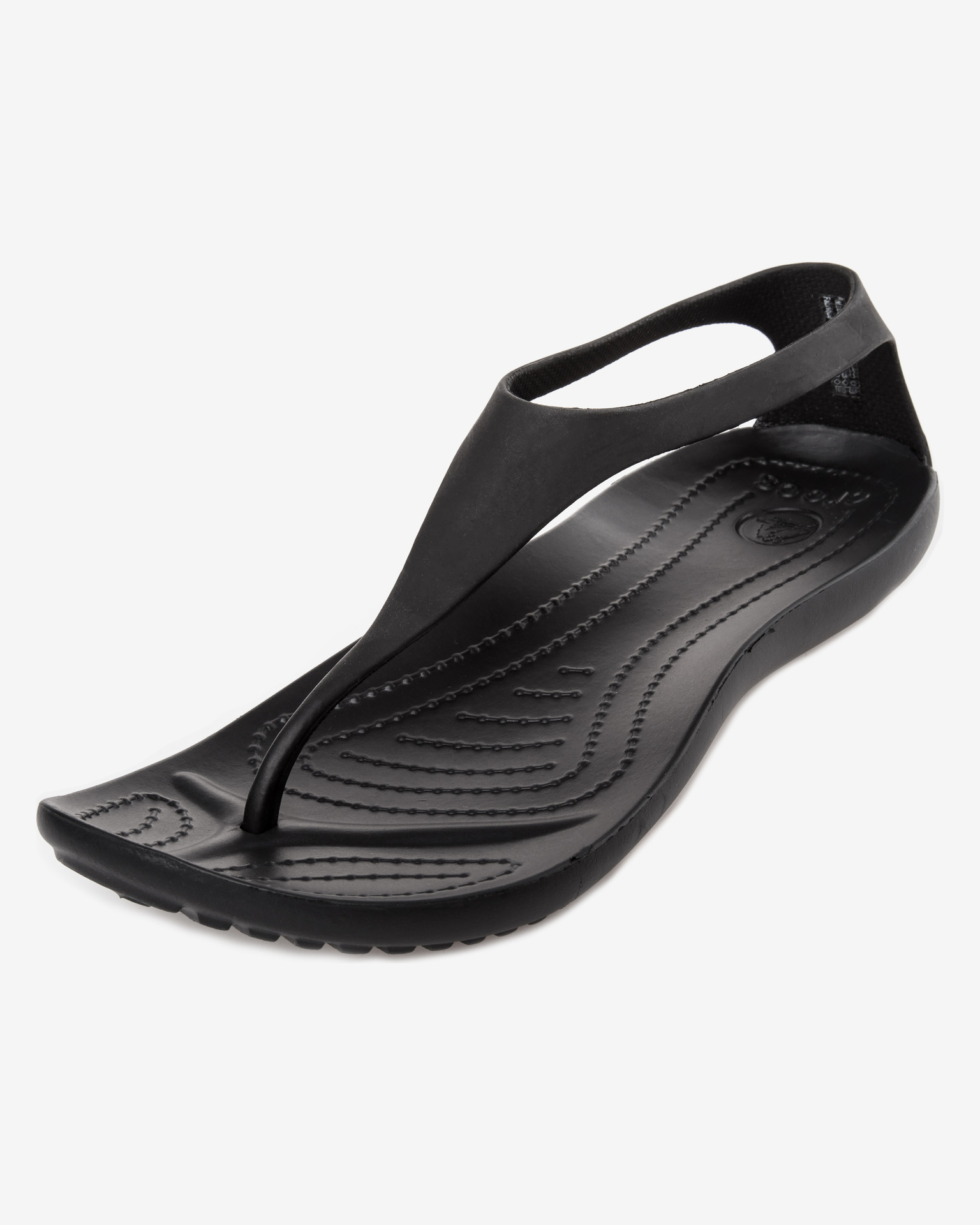 Crocs sexi flip black