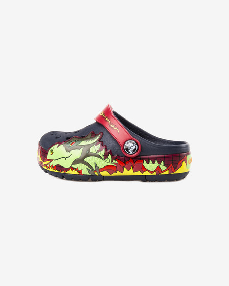 Crocs CrocsLights Fire Dragon Clog Crocs otroški