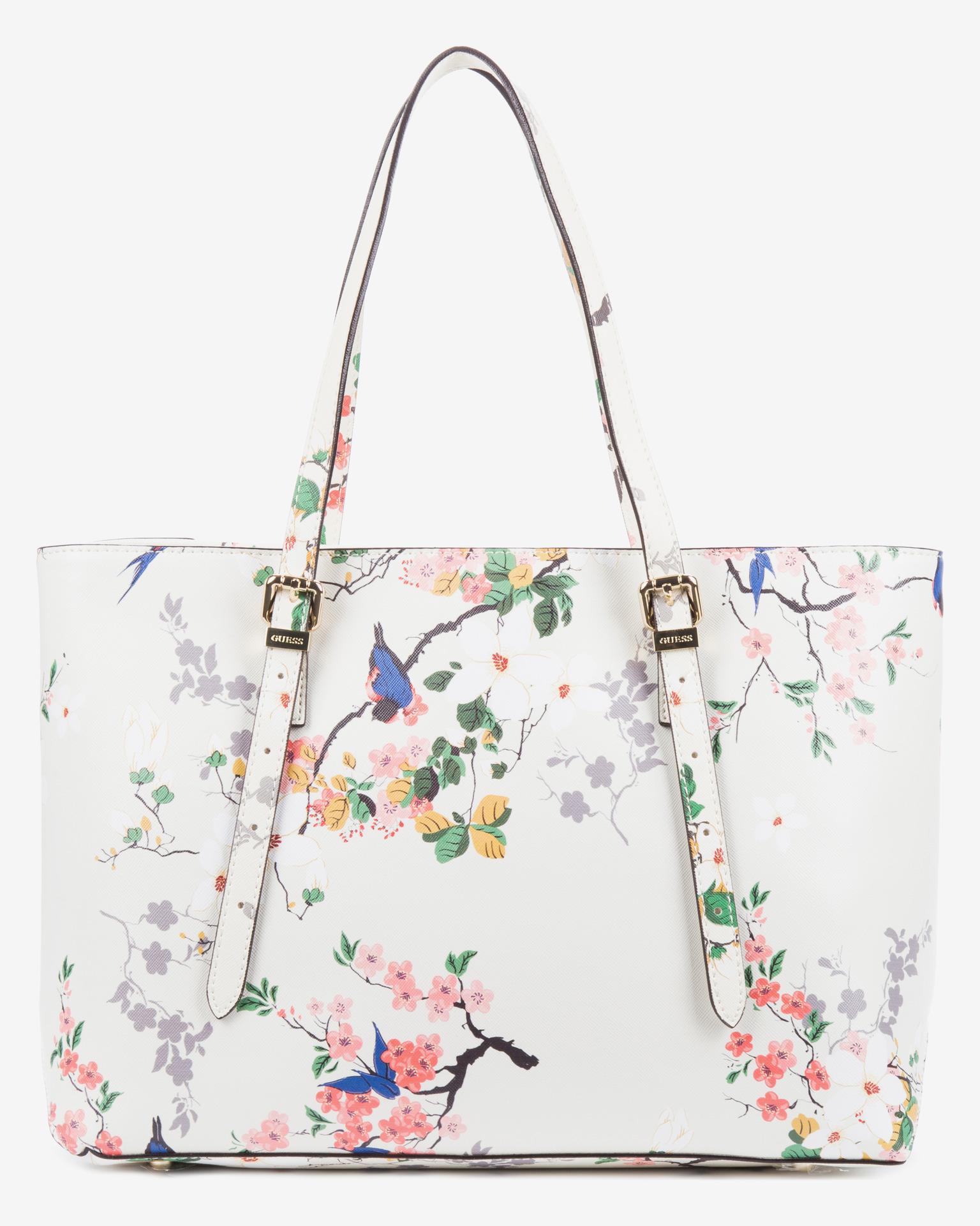 Guess - Isabeau Floral Medium Handbag Bibloo.com