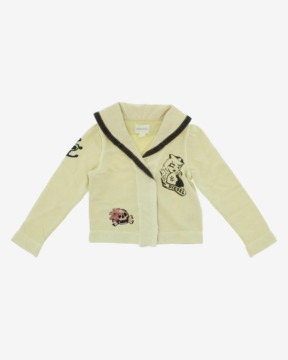 Diesel Sweatshirt Kinder Beige