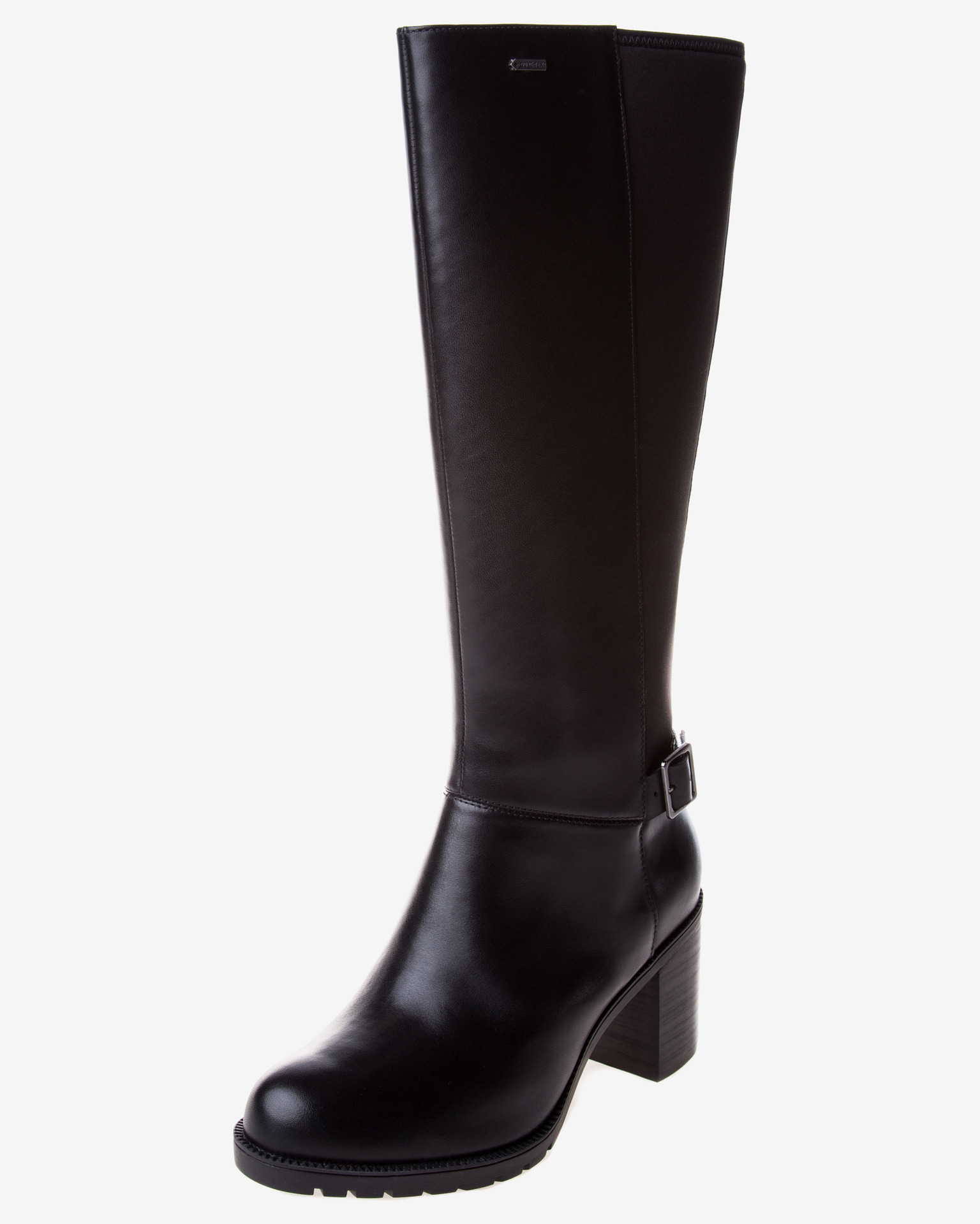 Knee high boots. Women's knee high boots are back this season as a statement piece to any outfit. Complete an evening look with black knee high boots and a dress or team them with your favourite skinny jeans for effortless on-trend style.
