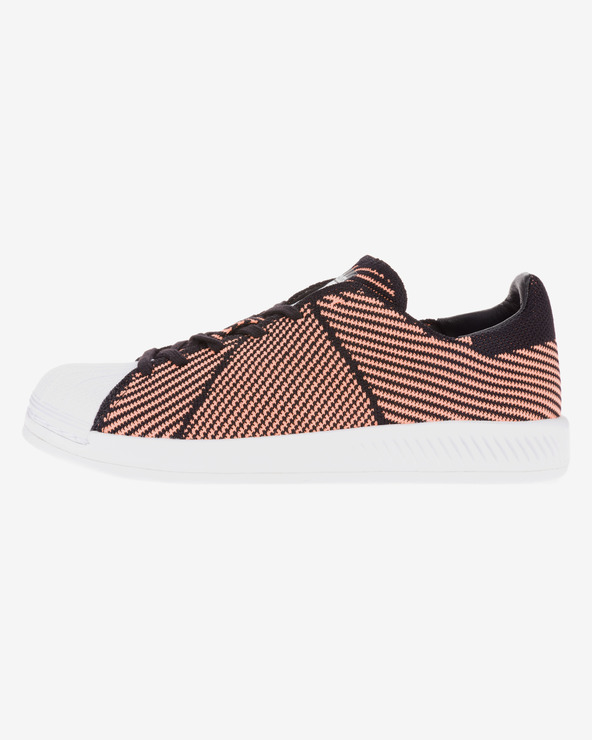 utterly stylish wholesale super cute adidas Originals - Superstar Bounce Primeknit Sneakers Bibloo.com
