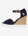 U.S. Polo Assn Norma1 Buty wedge