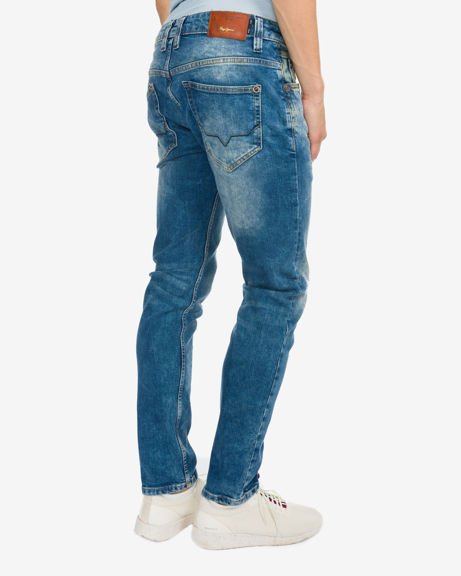 Pepe Jeans Junior Boy: Zinc Dusted Jeans Bibloo.com