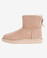 UGG Mini Bailey Bow II Metallic Sněhule