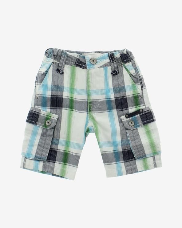 Diesel Kinder Shorts Blau Grün Weiß