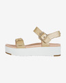 UGG Angie Metallic Sandals