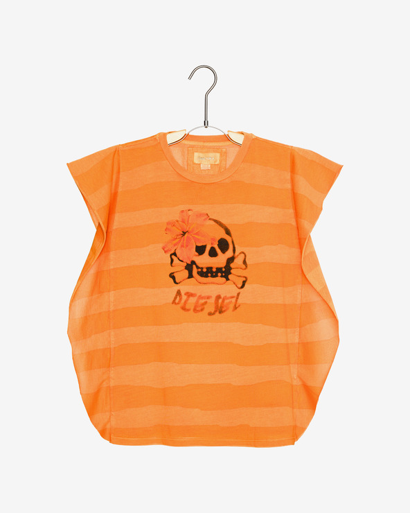 Diesel Kinder  T‑Shirt Orange