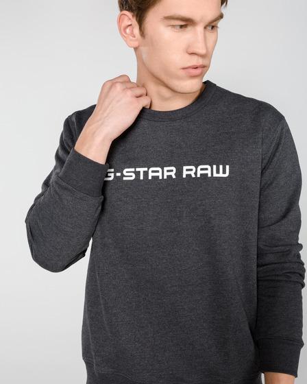 G-Star RAW Loaq Mikina Šedá