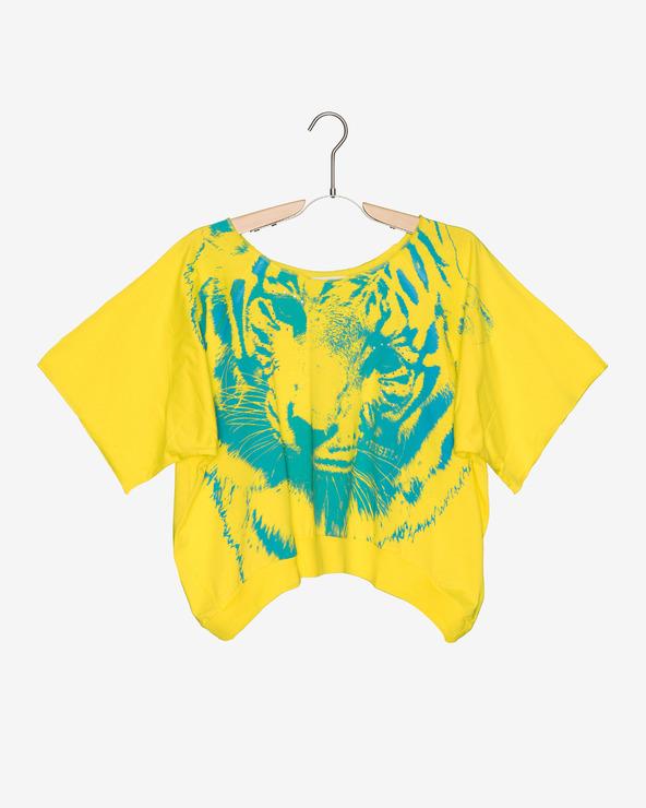 Diesel Kinder  T‑Shirt Gelb