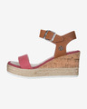 U.S. Polo Assn Niva3 Jeans Buty wedge