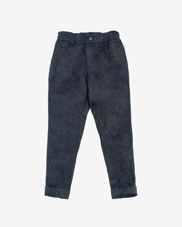 John Richmond Pantaloni pentru copii Albastru