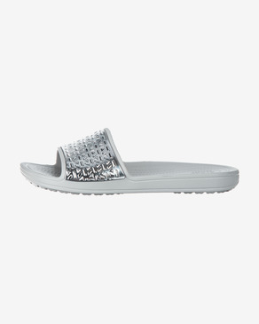 Crocs Sloane Graphic Etched Klapki