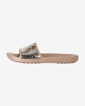 Crocs Sloane Graphic Metallic Klapki