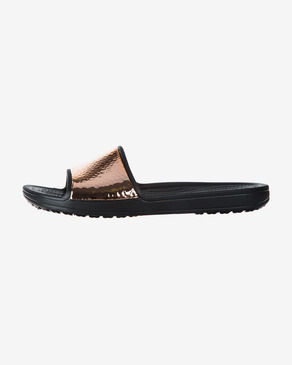 Crocs Sloane Hammered Metallic Klapki