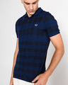Fred Perry Gingham Polo triko
