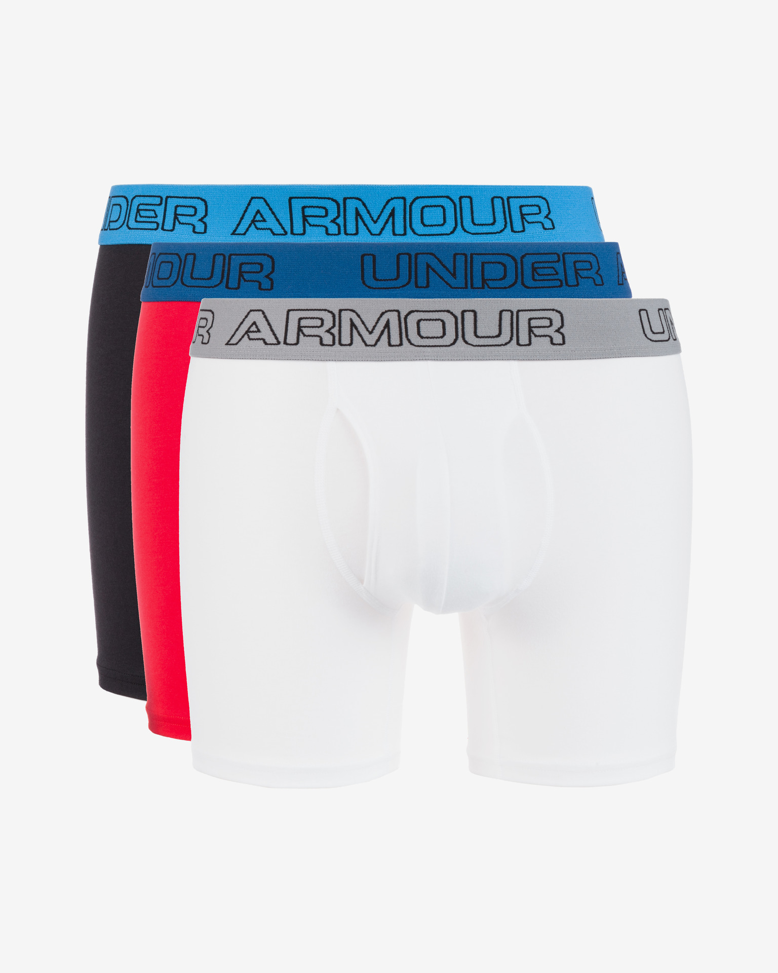 "Charged Cotton® Stretch 6"" Boxerky 3 ks Under Armour"