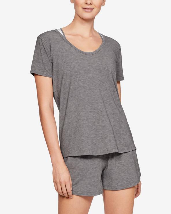 Under Armour Athlete Recovery Sleepwear™ Koszulka do spania Szary
