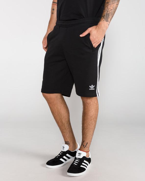 adidas Originals 3-Stripes Shorts Schwarz