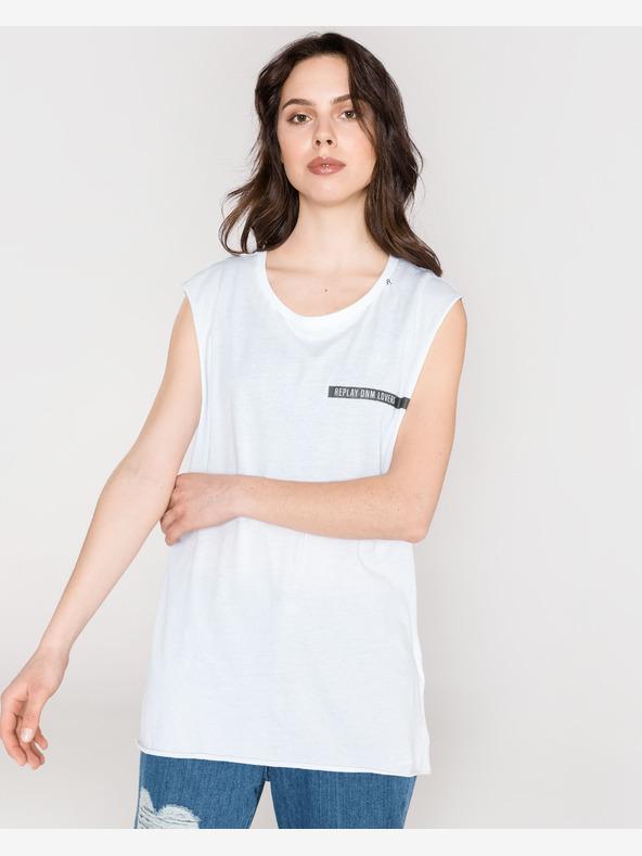 Replay Unterhemd Weiß