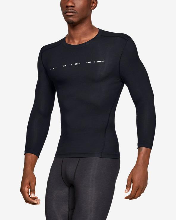 Under Armour Athlete Recovery Compression™ Koszulka Czarny