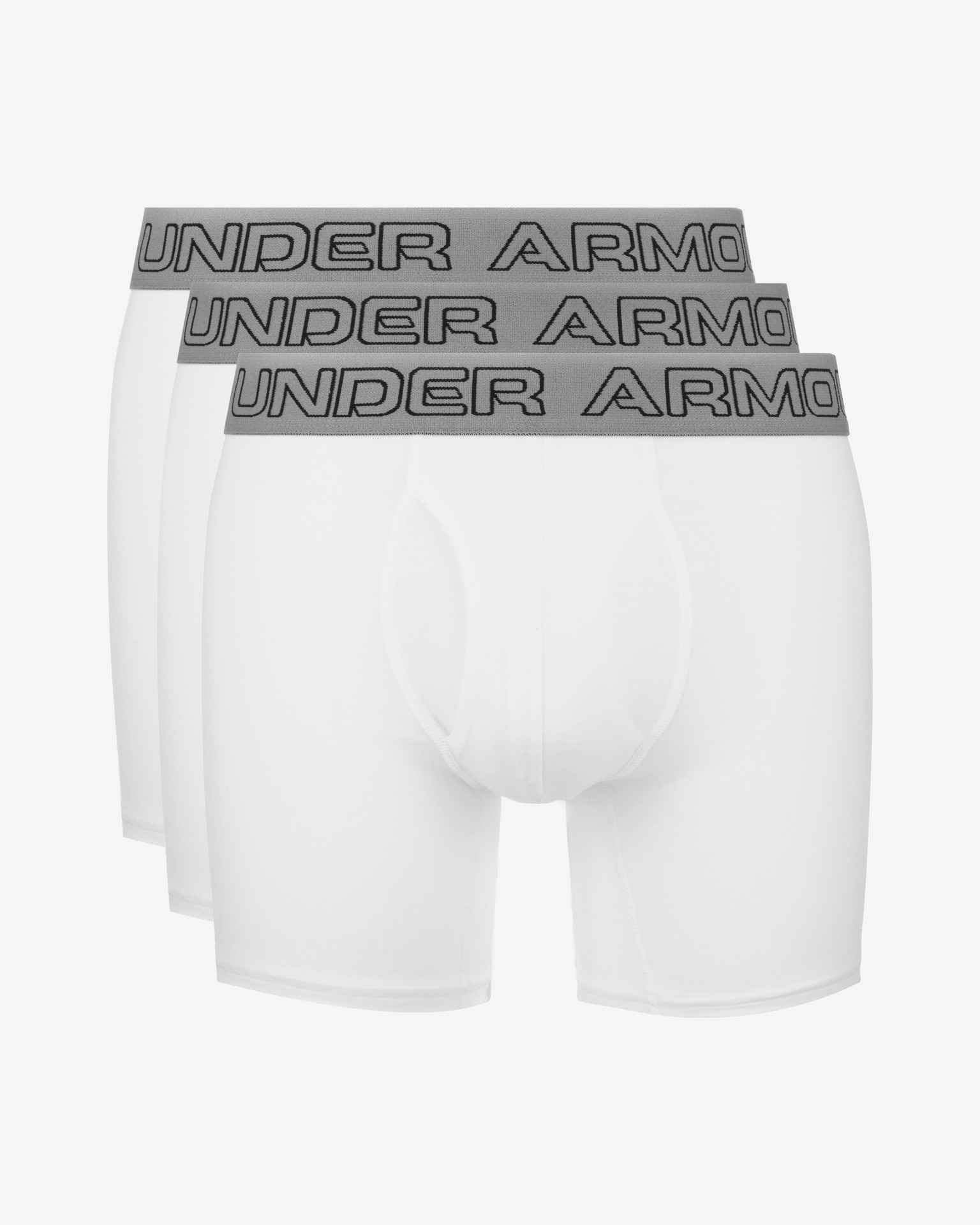 """Charged Cotton® Stretch 6"""" Boxerky 3 ks Under Armour"""