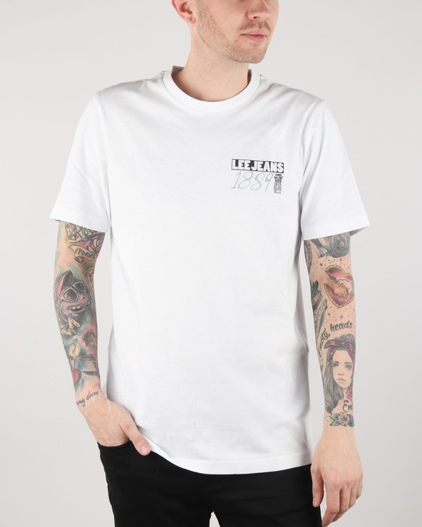 Lee T-Shirt Weiß