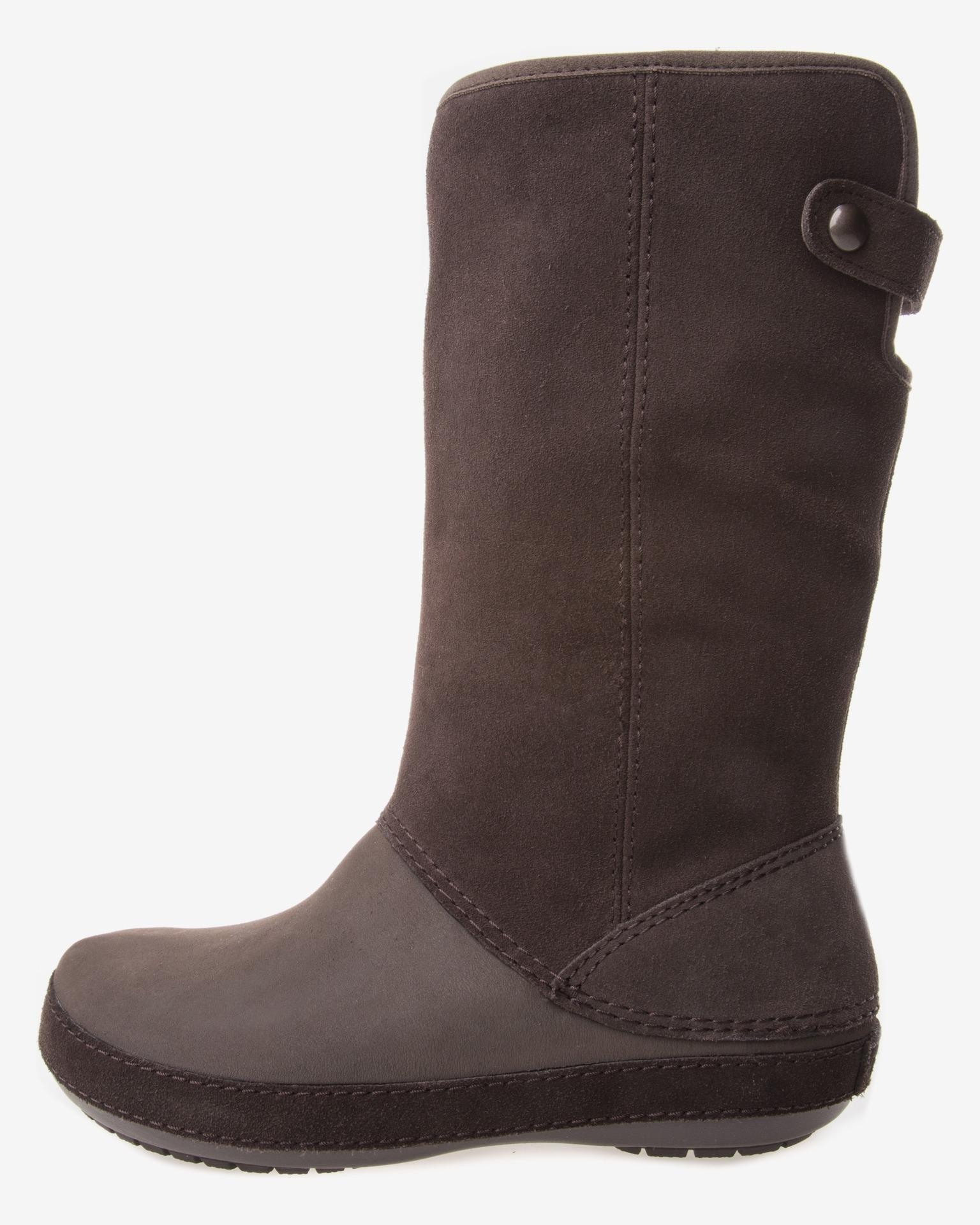Crocs - Berryessa Tall Suede Boot Csizma  4eb48adafe