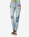 Desigual Ethnic High Jeans