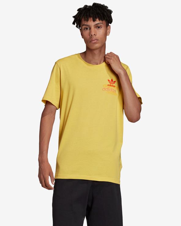 adidas Originals Shattered T-Shirt Gelb