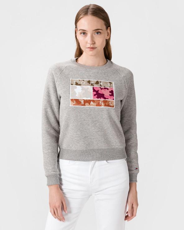 Tommy Jeans Sweatshirt Grau