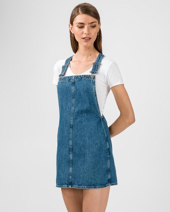 Pepe Jeans Šaty mit Latz Blau