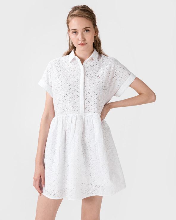 Tommy Jeans Kleid Weiß