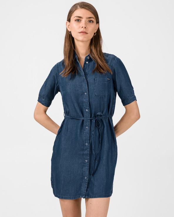 Pepe Jeans Gloss Kleid Blau