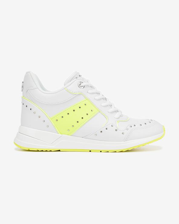 Guess Rejjy Tennisschuhe Gelb Weiß