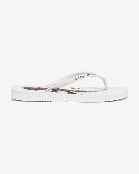 Calvin Klein Dorinda Flip-Flops Weiß