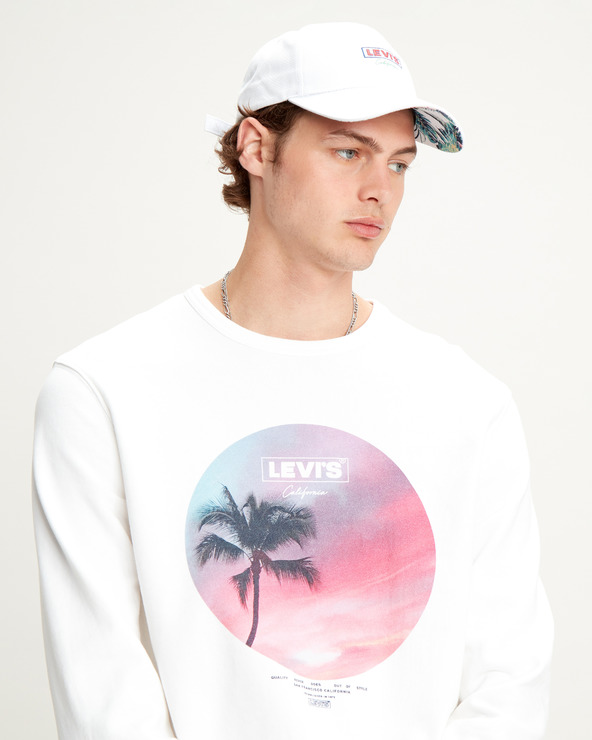 Levi's® Graphic Sweatshirt Weiß